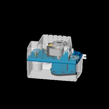 bomba condensados SANICONDENS Mini - semitransparente